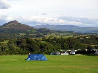 Mynydd Du Caravan Park - Holiday Park in Criccieth, Gwynedd, Wales
