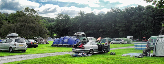 The Croft Caravan and Camp Site - Holiday Park in Hawkshead, Cumbria, England