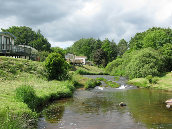 Blackadder Caravan Park - Holiday Park in Greenlaw, Borders, Scotland