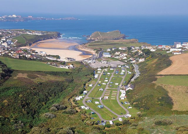Porth Beach Holiday Park - Holiday Park in Newquay, Cornwall, England