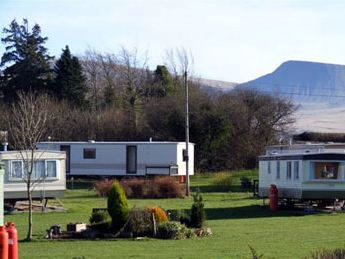 Black Mountain Caravan Park - Holiday Park in Llangadog, Carmarthenshire, Wales