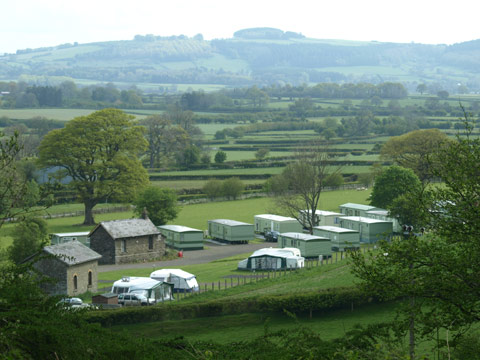 The Old Station Caravan Park - Holiday Park in New Radnor, Powys, Wales