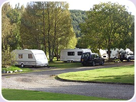 Cannich Caravan and Camping Park - Holiday Park in Strathglass, Highlands, Scotland