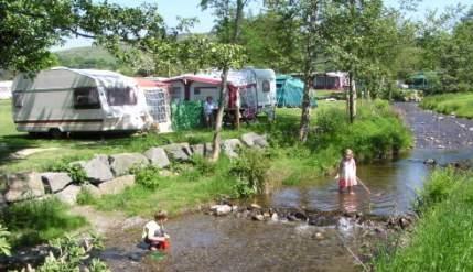 Hendwr Caravan Park - Holiday Park in Corwen, Denbighshire, Wales