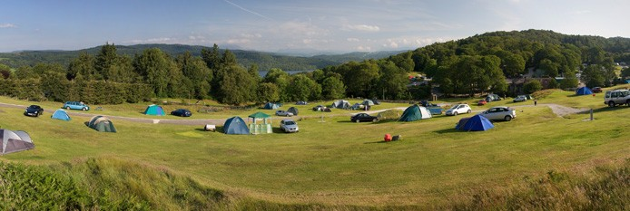 Park Cliffe Camping and Caravan Estate - Holiday Park in Windermere, Cumbria, England