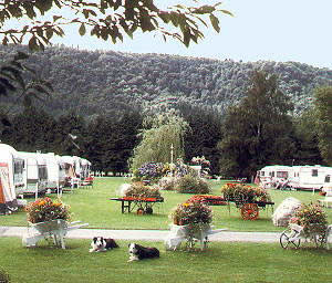 Bodnant Caravan Park - Holiday Park in Llanrwst, Conwy, Wales