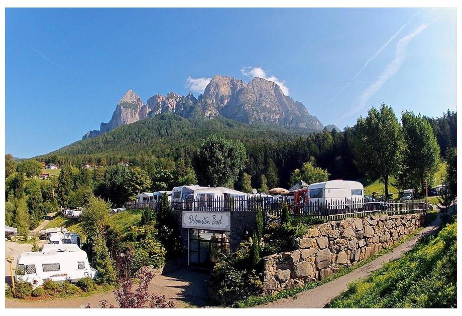 Campsite Seiser Alm - Holiday Park in Fie allo Sciliar - Voels am Schlern, Dolomites, Italy
