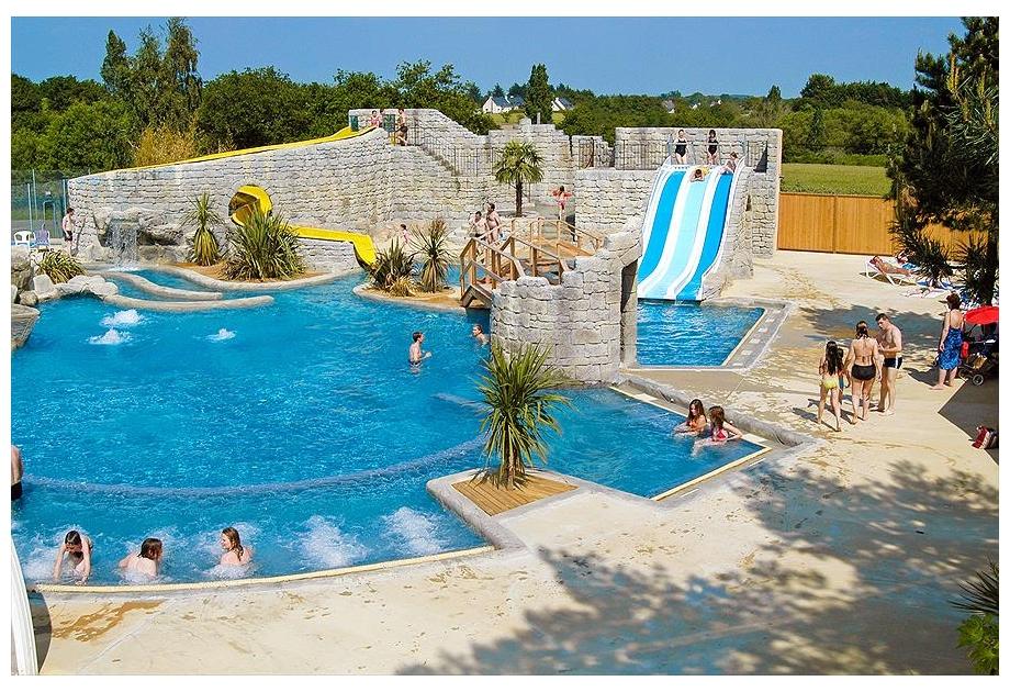 Campsite Domaine de Leveno - Holiday Park in Guerande, Loire, France