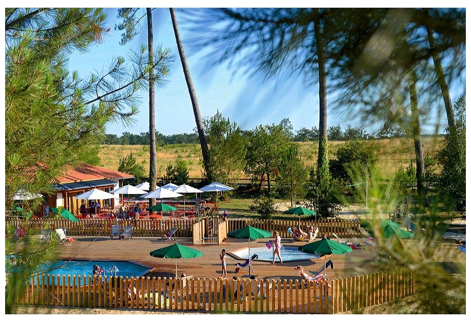 Campsite Huttopia Landes Sud - Just one of the great holiday parks in Aquitaine, France
