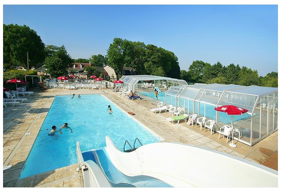 Campsite Domaine de Drancourt - Holiday Park in Saint-Valery-sur-Somme, Picardy, France