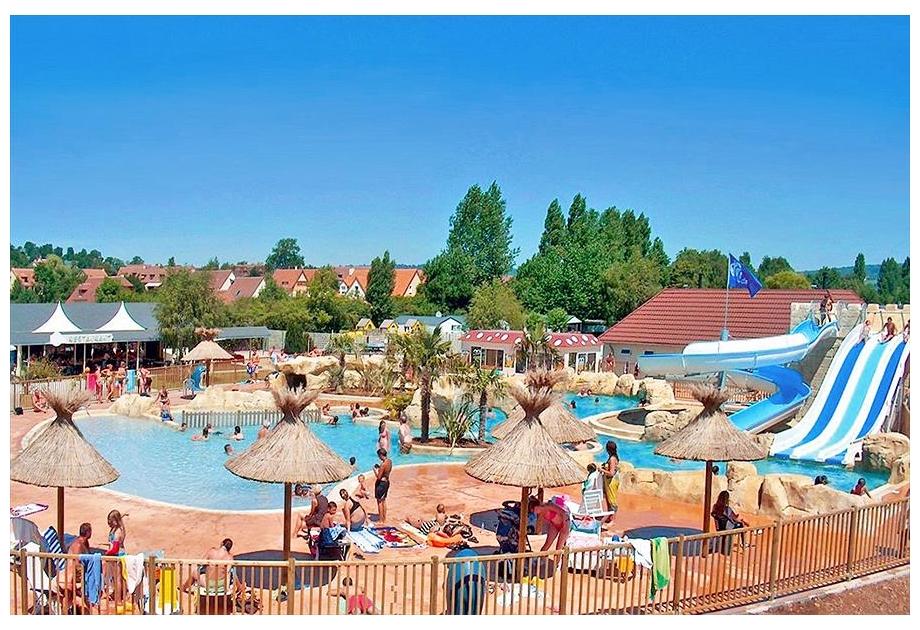 Campsite La Vallee de Deauville - Holiday Park in Saint-Arnoult, Normandy, France