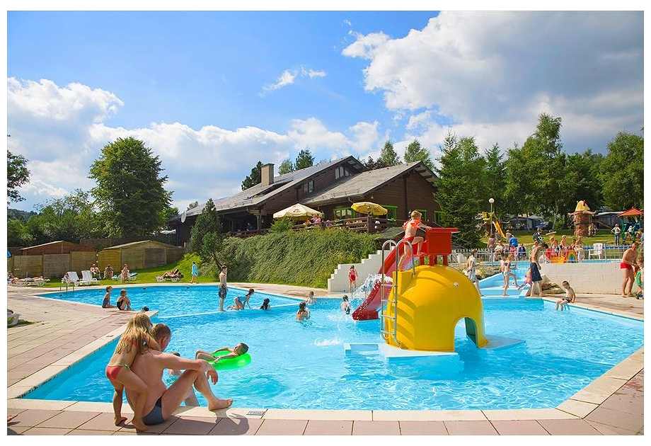 BestCamp Ardennen Camping Petite Suisse - Holiday Park in Dochamps, Luxembourg, Belgium