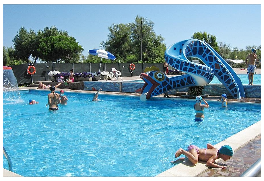 Campsite Oasi - Holiday Park in Sottomarina, Veneto, Italy