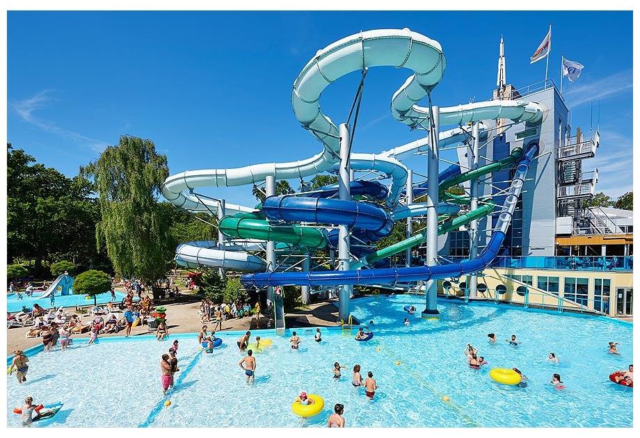 Campsite Vakantie en attractiepark Duinrell - Holiday Park in Wassenaar, South-Holland, Netherlands