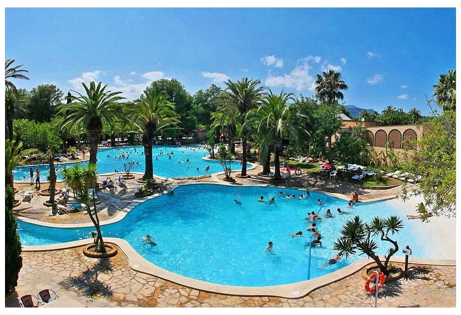Campsite La Torre del Sol - Just one of the great campsites in Catalonia, Spain
