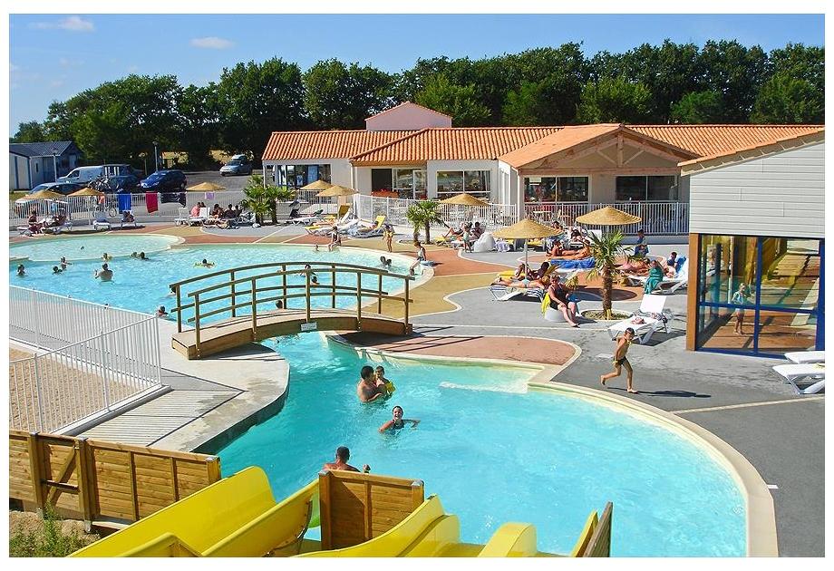 Campsite Loyada - Holiday Park in Talmont-Saint-Hilaire, Loire, France