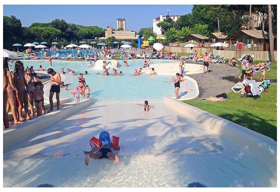 Campsite Malibu Beach - Holiday Park in Lido di Jesolo, Veneto, Italy