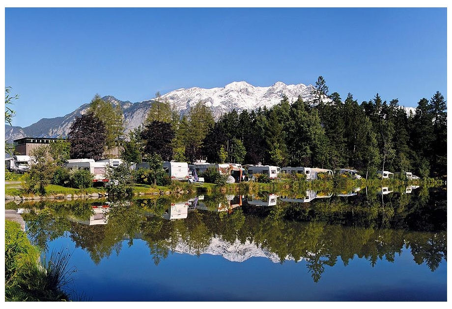 Campsite Ferienparadies Natterer See - Just one of the great holiday parks in Tyrol, Austria