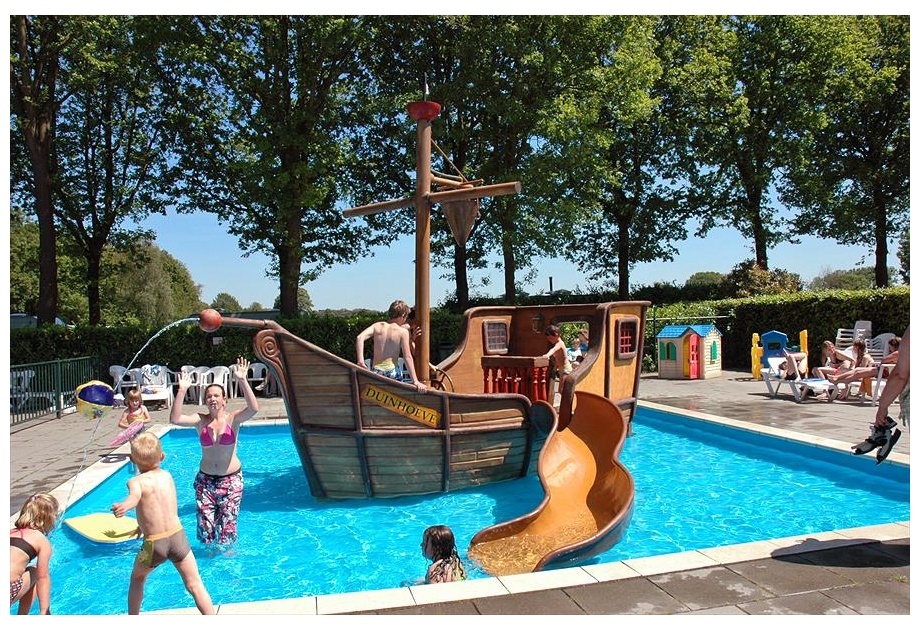 Cambiance Recreatiepark Duinhoeve - Holiday Park in Udenhout, Charente-Maritime, Netherlands