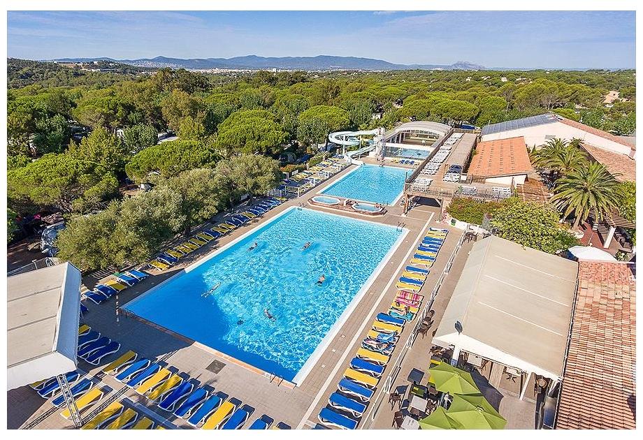 Campsite Sandaya Douce Quietude - Holiday Park in Saint-Rapha?l, Provence-Cote-dAzur, France