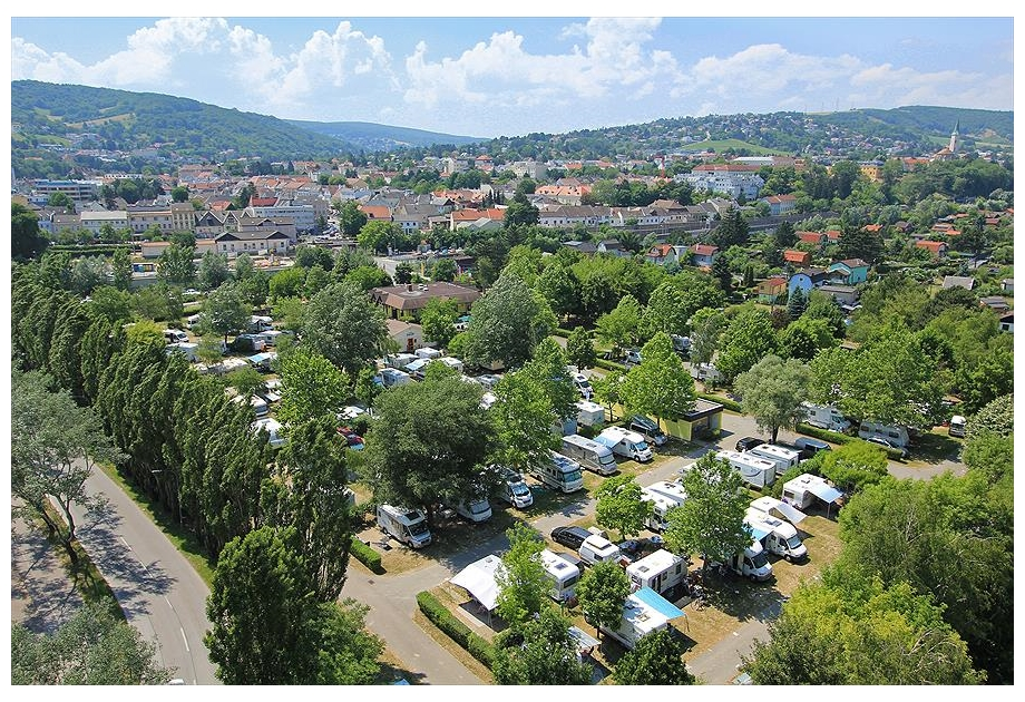Donaupark Camping Klosterneuburg - Just one of the great holiday parks in Danube, Austria