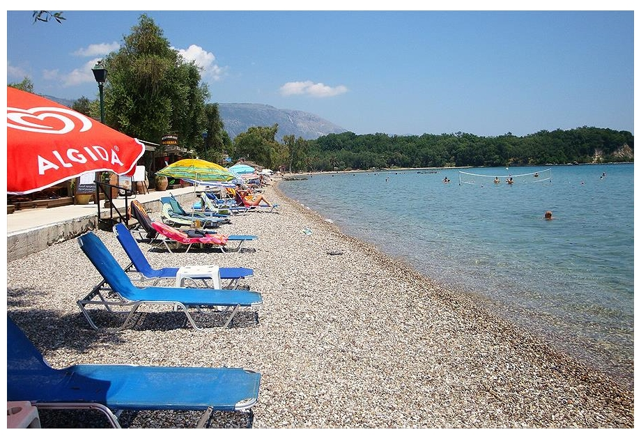 Campsite Karda Beach - Just one of the great campsites in Ionian Islands, Greece
