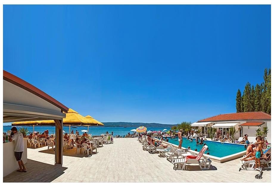 Campsite Galeb - Just one of the great campsites in Dalmatia, Croatia
