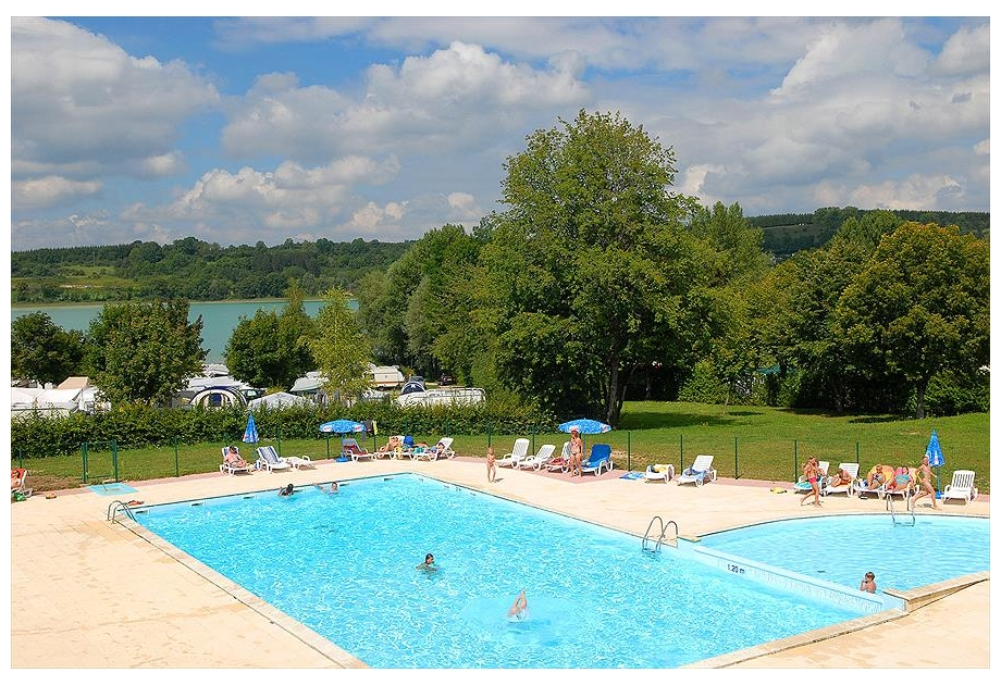 Campsite Yelloh! Village Fayolan - Holiday Park in Clairvaux-les-Lacs, Franche-Comte, France