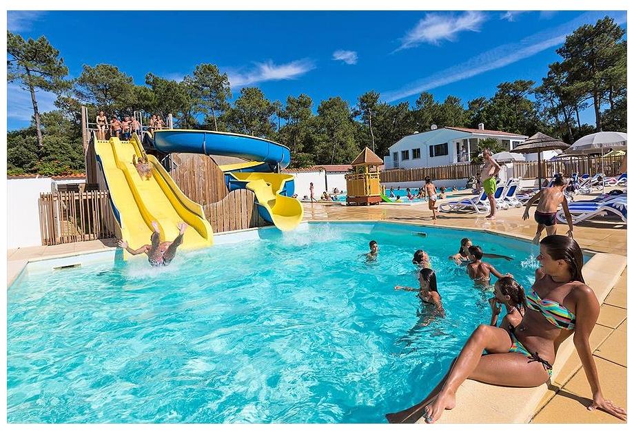 Campsite Odalys Les Dunes - Holiday Park in Longeville-sur-Mer, Loire, France