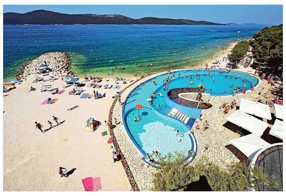 Solaris Camping Resort - Just one of the great campsites in Sibenik Knin, Croatia