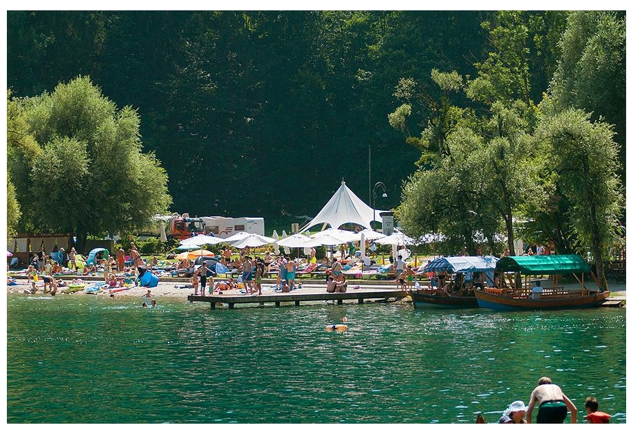 Campsite Bled - Just one of the great campsites in Bled, Slovenia