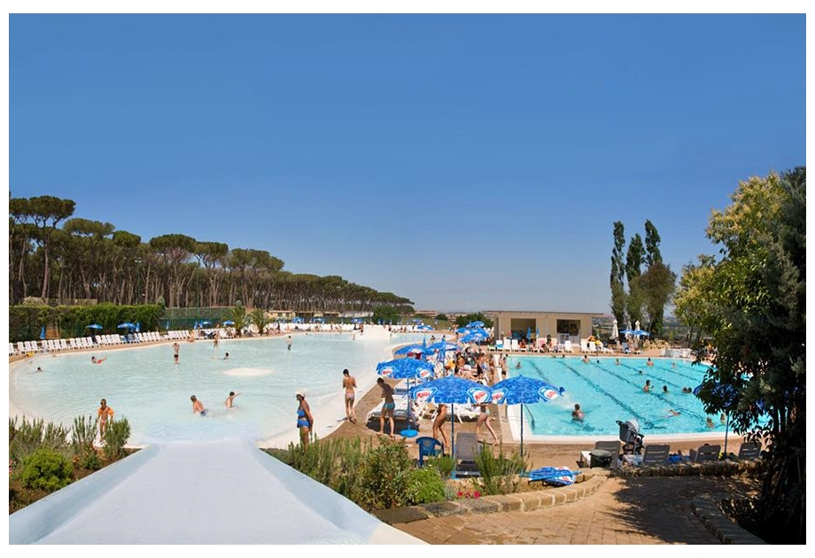 Camping Village Fabulous - Holiday Park in Rome, Lazio, Italy