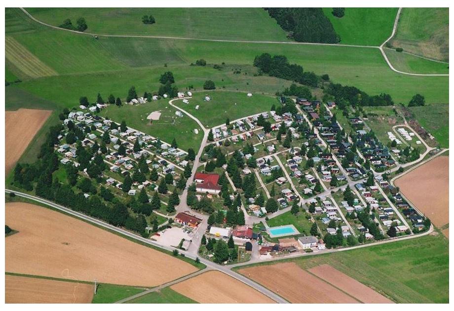 AZUR Rosencp. Schwabische Alb - Holiday Park in Erpfingen, Swabian-Alps, Germany