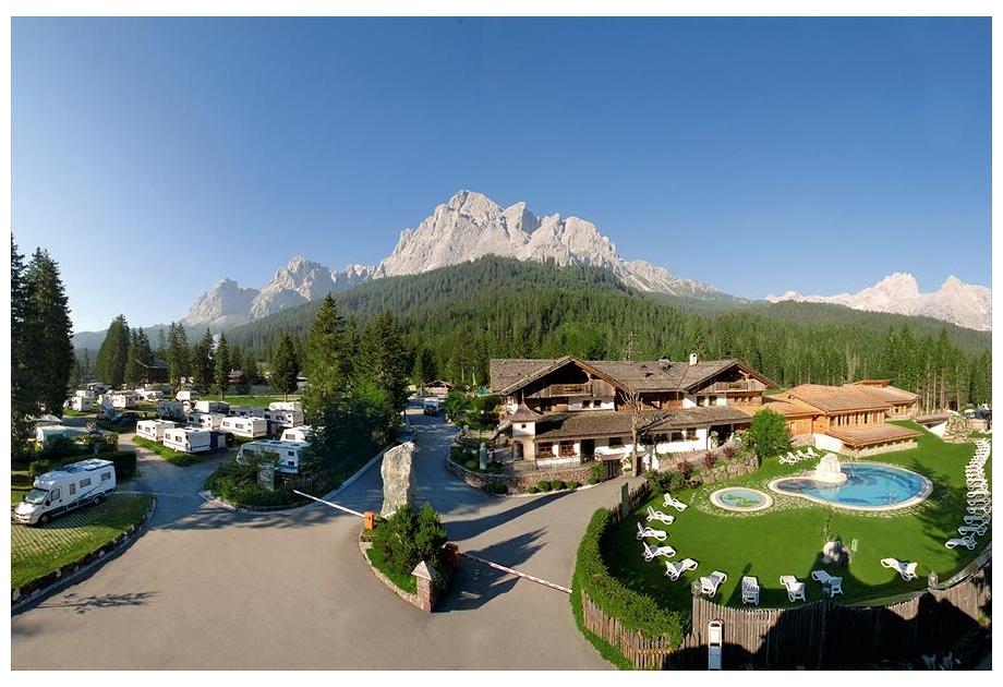 Campsite Caravan Park Sexten - Holiday Park in Sexten, Dolomites, Italy