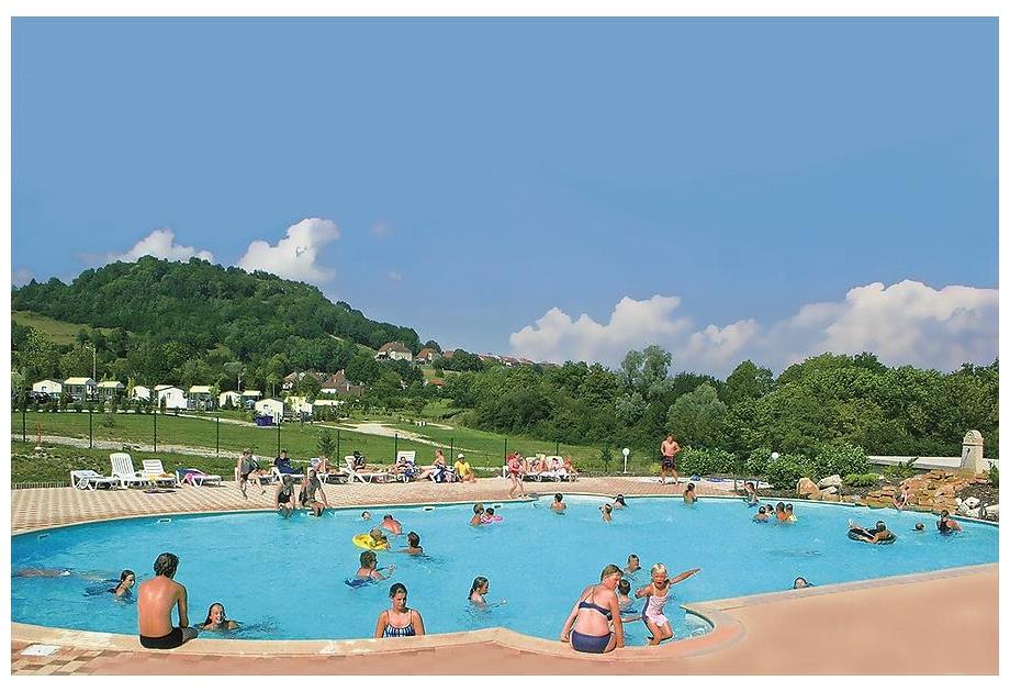 Campsite Domaine de l'Epinette - Holiday Park in Chatillon, Franche-Comte, France