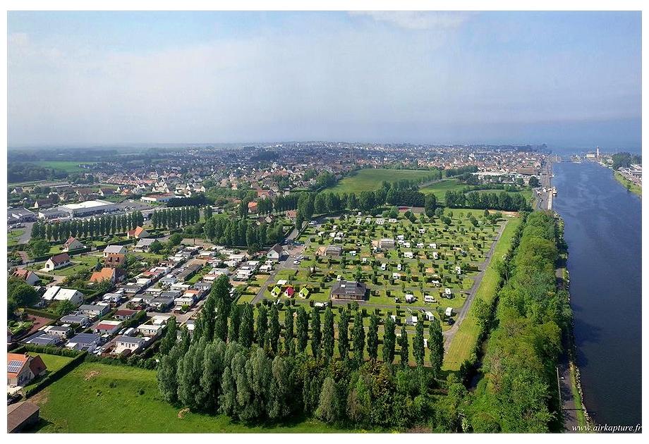 Campsite Seasonova Riva Bella - Holiday Park in Ouistreham, Normandy, France