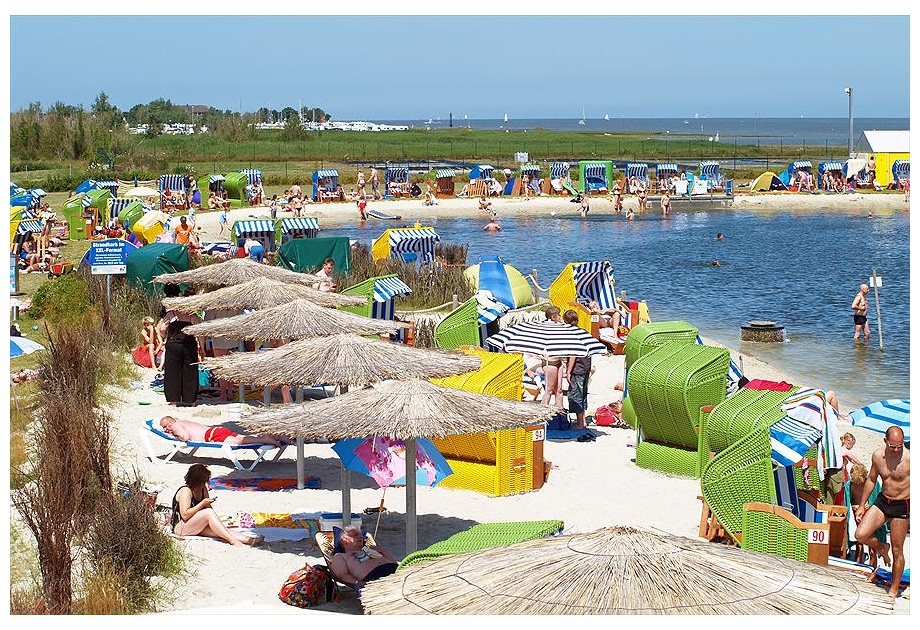Knaus Campingpark Burhave/Nordsee - Holiday Park in Butjadingen, Saxony, Germany