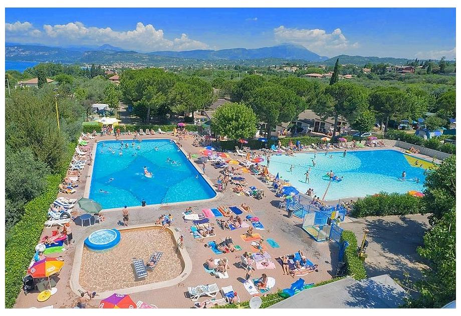 Campsite Cisano - Holiday Park in Bardolino, Veneto, Italy