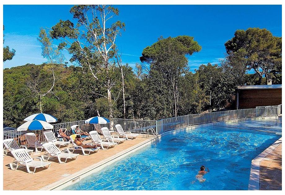 Campsite Odalys La Foret de Janas - Holiday Park in La Seyne-sur-Mer, Provence-Cote-dAzur, France