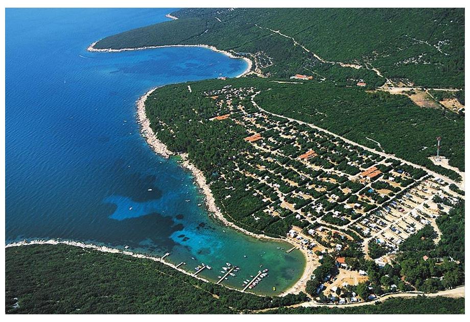 Camping Slatina - Just one of the great campsites in Primorje-Gorski kotar, Croatia