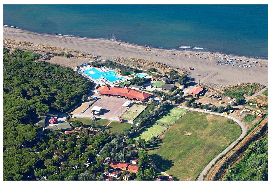 Campsite Europing 2000 srl - Holiday Park in Tarquinia, Lazio, Italy