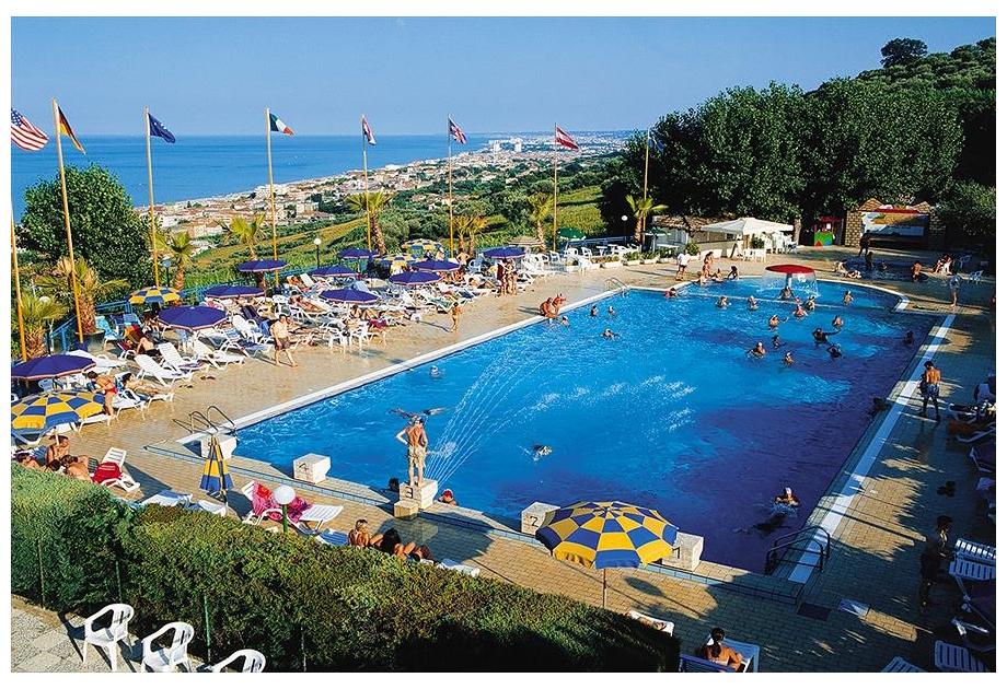 Campsite Europe Garden - Holiday Park in Silvi Marina, Adriatic-Coast, Italy
