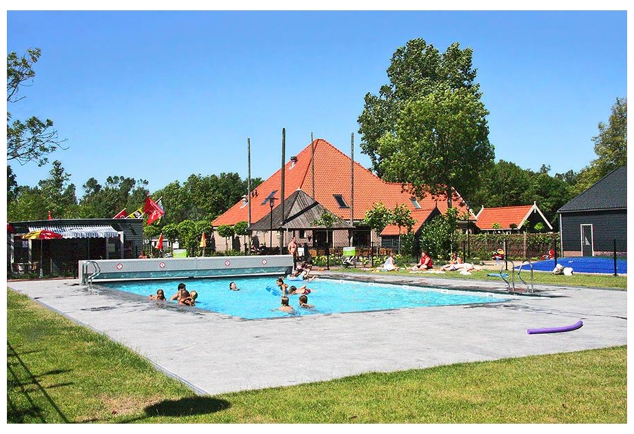 Campsite DroomPark Buitenhuizen - Holiday Park in Velsen, North-Holland, Netherlands